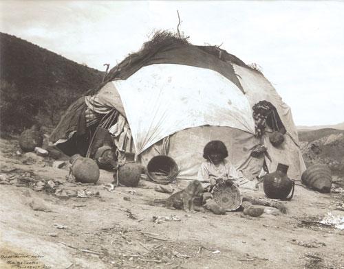 Luken   Apache Basket Maker    Roosevelt, AZ    Photograph     c. 1905    8.125 x 10.375