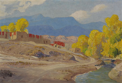 Sheldon Parsons (1866-1943)   October Alcalde, NM