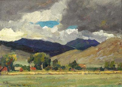 Carson City 1919  10 x 14