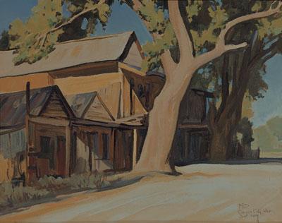 Maynard Dixon (1875-1946)      Old China Town      Carson City, NV