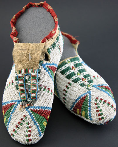 Arapaho Ceremonial Moccasins