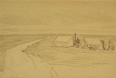 Okie Camp     c. 1934