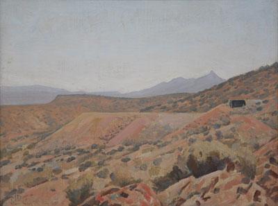 Maynard Dixon (1875-1946)    Randsburg, CA