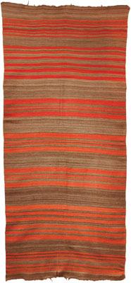 Rio Grande Blanket    c. 1890    108 x 49