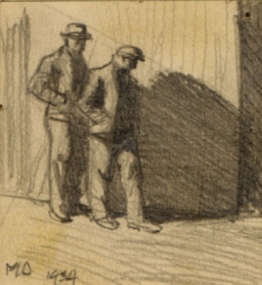 Sketches for Pickets, 1934
