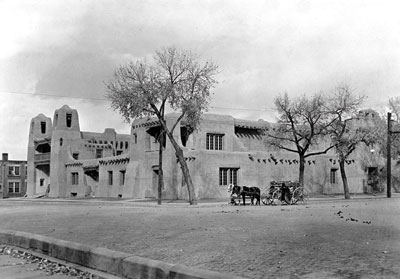 Fine Arts Museum, Museum of New Mexico, Santa Fe, NM, c. 1917