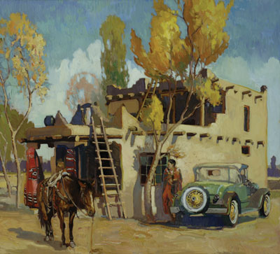 Francis Livingston     The Trading Post