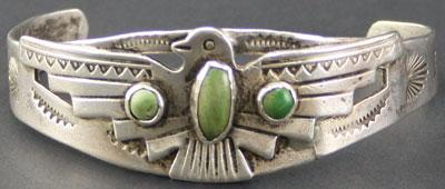 Fred Harvey style Navajo bracelet