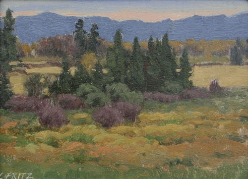Charles Fritz    View in the Flathead Valley