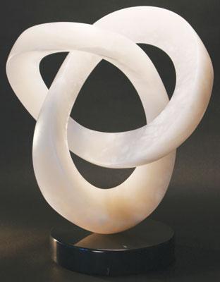 T Barny    Copula    Italian Alabaster    20 x 17 x 10