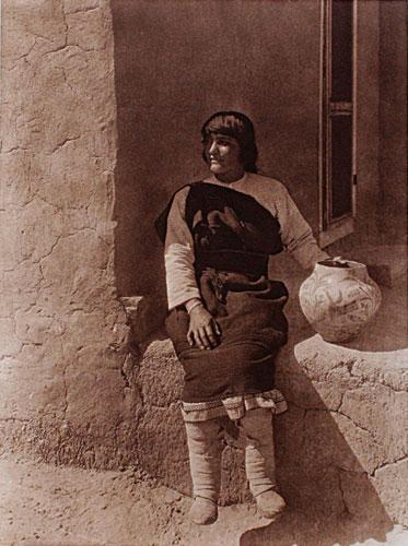 Edward Curtis (1868-1952)    Aiyowitsa - Cochiti