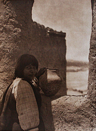 Edward Curtis (1868-1952)    Ti'mu - Cochiti
