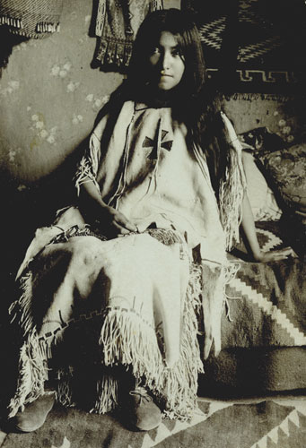 Geronimo's Daughter Lenna