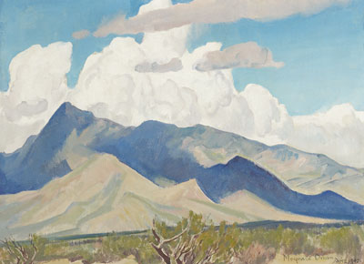 Promise of Spring, Arizona 1942  12 x 16