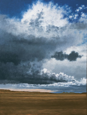 Towering Cumulus South of Galisteo  Jeff Aeling  48 x 36