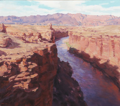 Marble Canyon  Gregory Hull  30 x 24