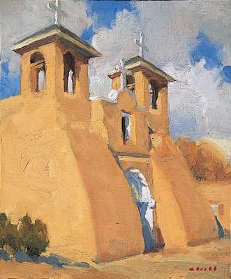 Rancho de Taos  Gregory Hull  10 x 12