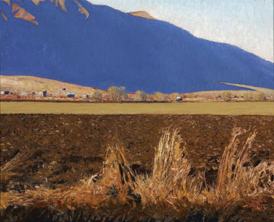 Blue Shadows and Field  Gary Ernest Smith  24 x 30