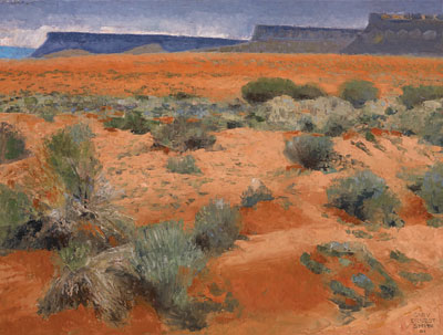 Coral Desert Floor  Gary Ernest Smith  18 x 24