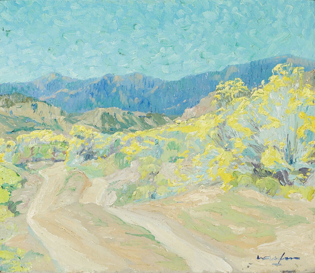 Walter Ufer   Road in the Rockies, c. 1915