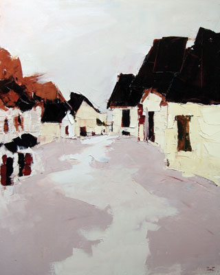 Sandra Pratt    Small French Village