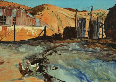 Ross Stefan (1934-1999)    Old Santa Cruz, Sonora, Mexico