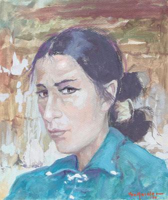 Carl von Hassler (1887-1969)    Navajo Woman