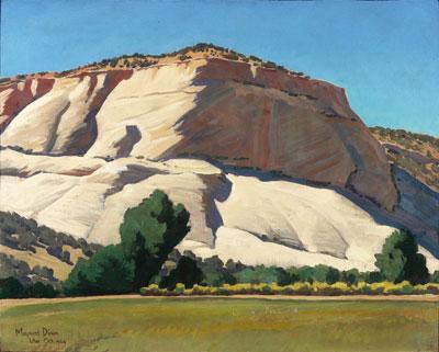 White Butte, Utah 1944  16 x 20