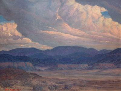 Carl von Hassler (1887-1969)     Looking Toward Jemez