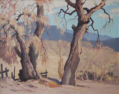 Arthur W. Hall (1889-1981)   Late Afternoon   c. 1950   Oil on Canvas   24 x 30