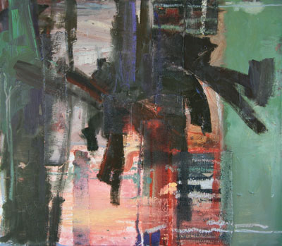The abstract paintings of Francis Livingston