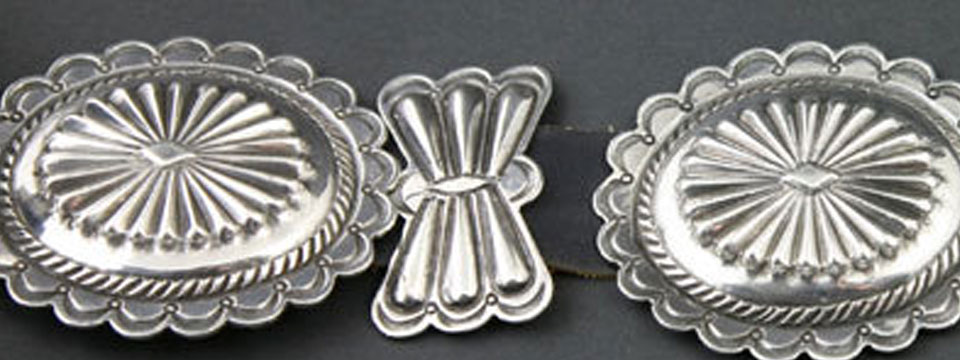 Navajo and Pueblo Indian silver jewelry