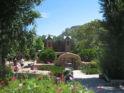 Santuario de Chimayo Photo courtesy Ann R. Smith