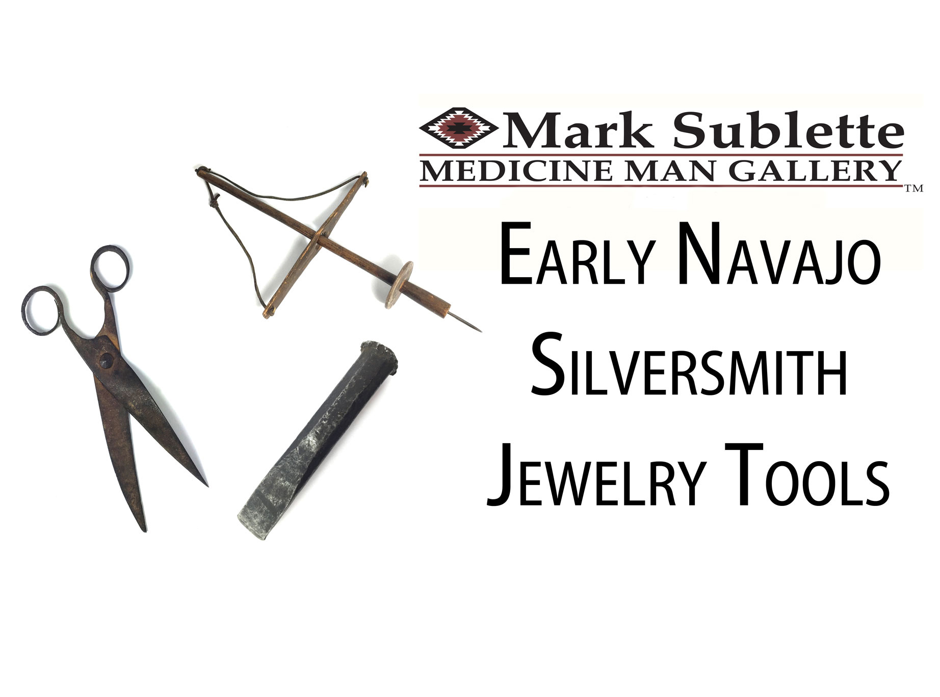 Native American Jewelry: How to identify early Navajo Silversmith Jewelry Tools