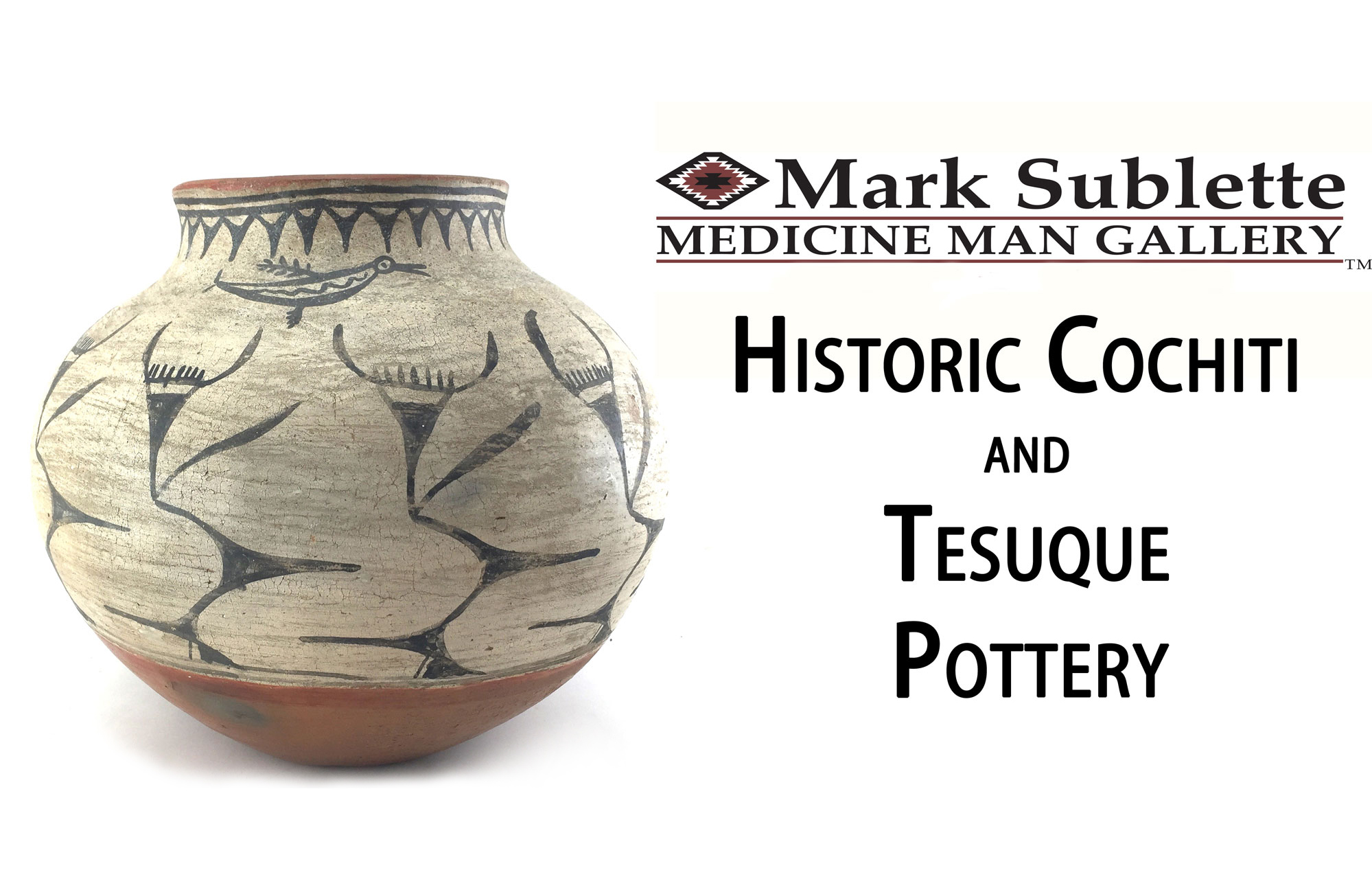 Native American Pottery – How to identify and price Cochiti and Tesuque Pueblo pottery (Part 1)