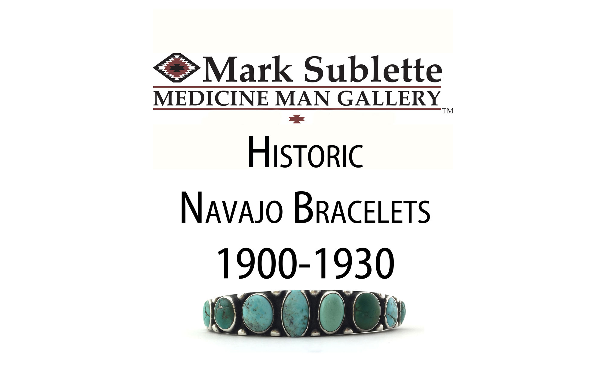 Indian Jewelry: how to Identify and Date Early Navajo Bracelets from 1900-1930