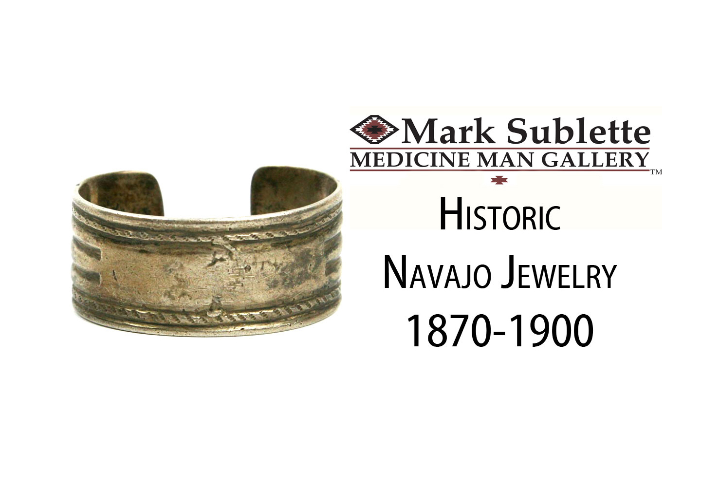 Native American Indian Jewelry: How to identify and date Navajo bracelets from 1870-1900