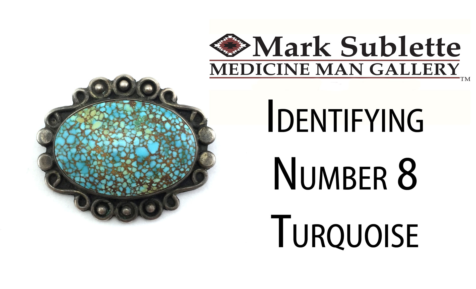 Indian Jewelry: How to Identify and Date Number 8 Turquoise in Native American Jewelry